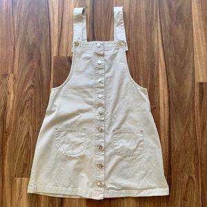 Vintage • Pinafore Overall Dress